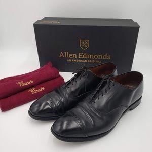 Allen Edmonds 10.5D Leather Shoes w/ Bags & Box